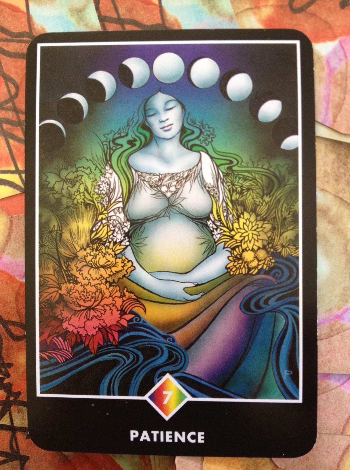 Что означает карта таро беременная женщина
